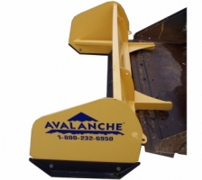 Compact tractor model pushers/box plows