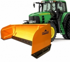 Agricultural tractor model pushers/box plows