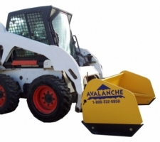 Skid steer model pushers/box plows
